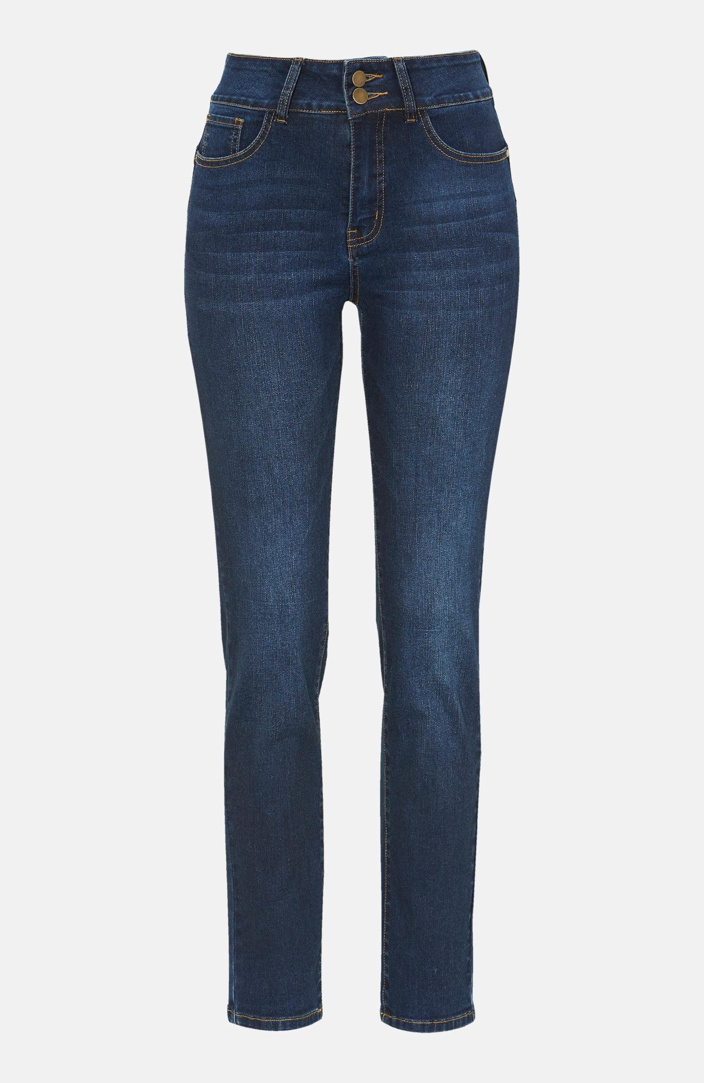 Shaping jeans hög midja