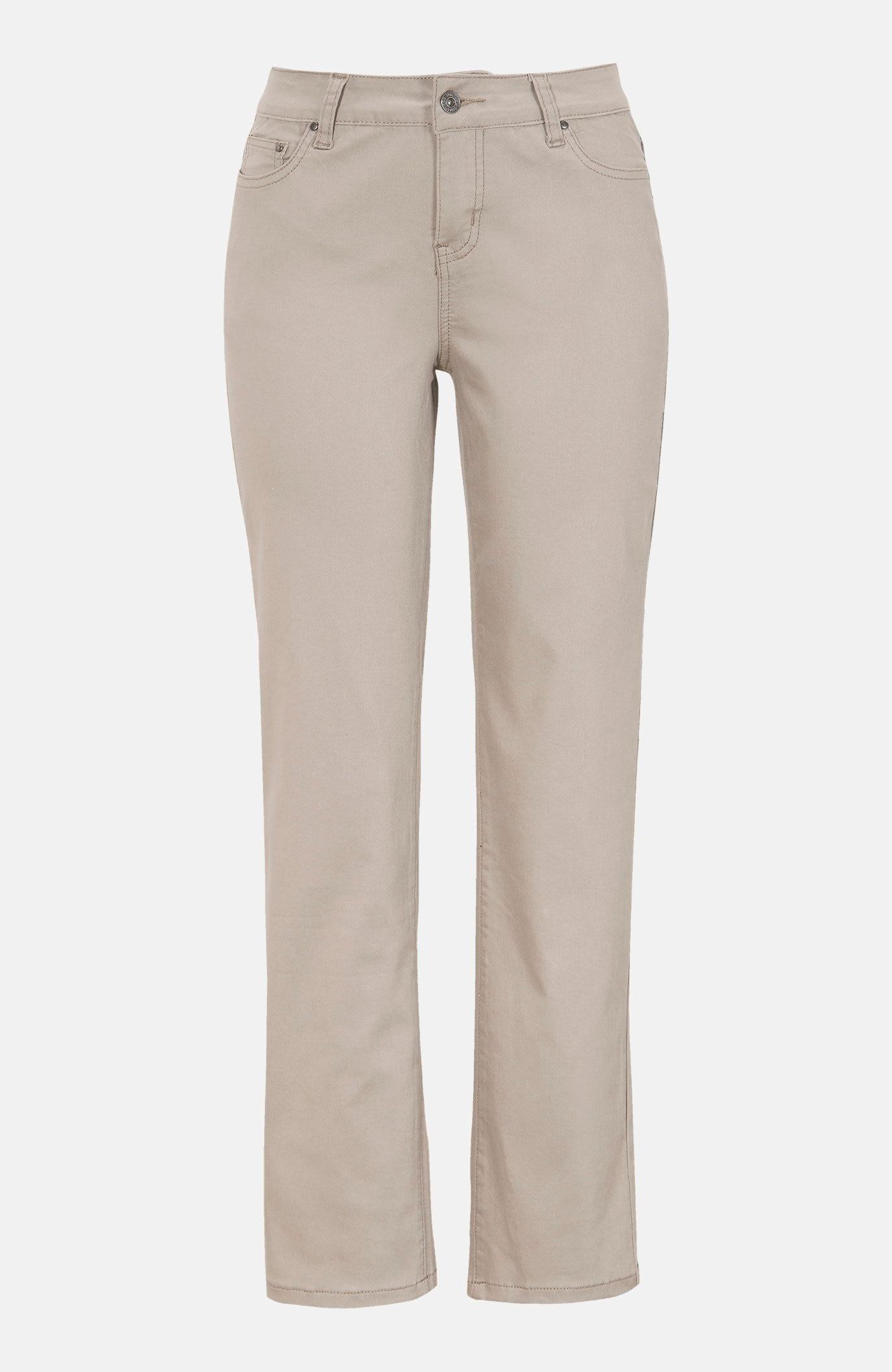Raka jeans i femficksmodell
