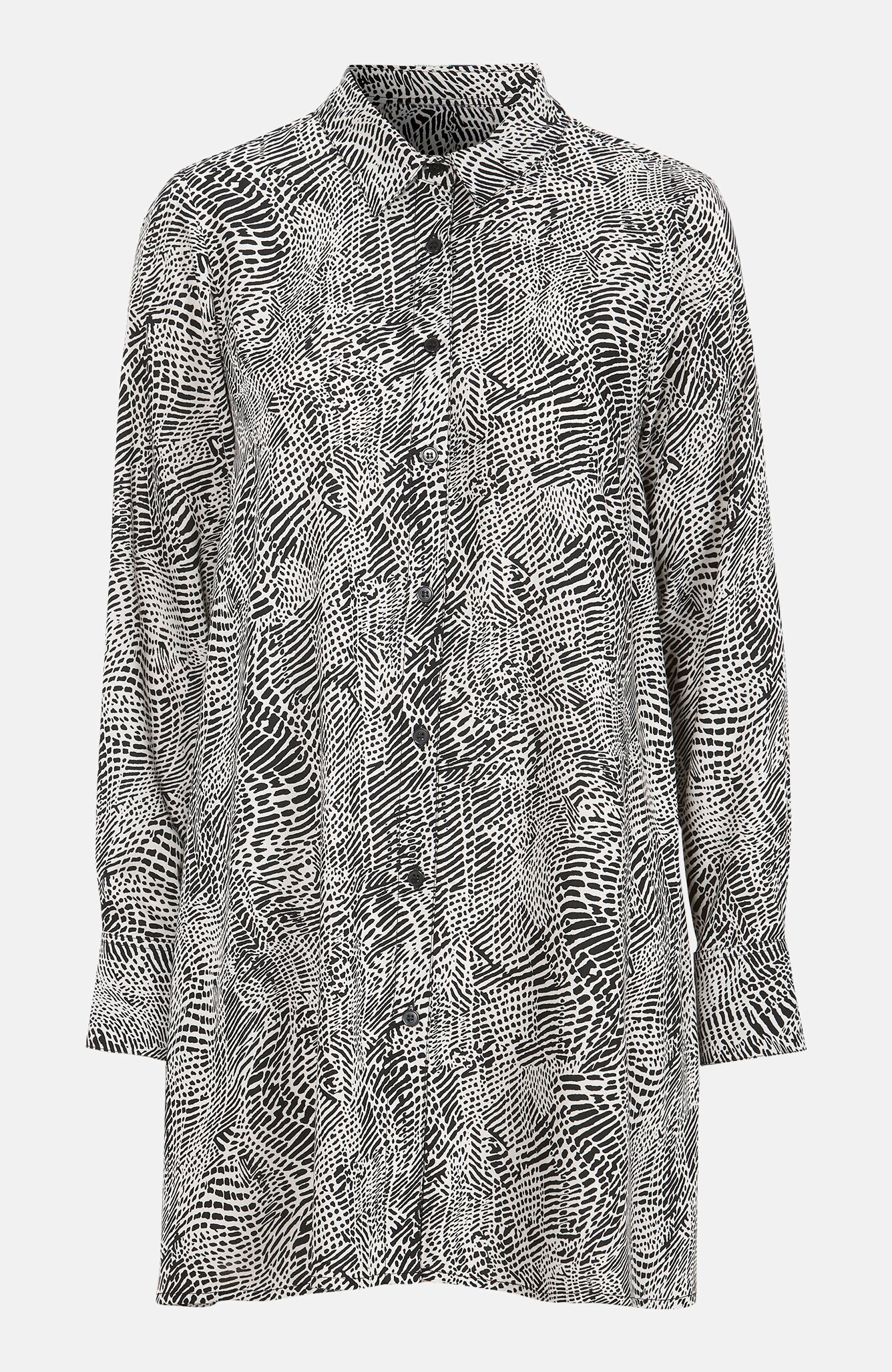 A-linjeformad skjorta