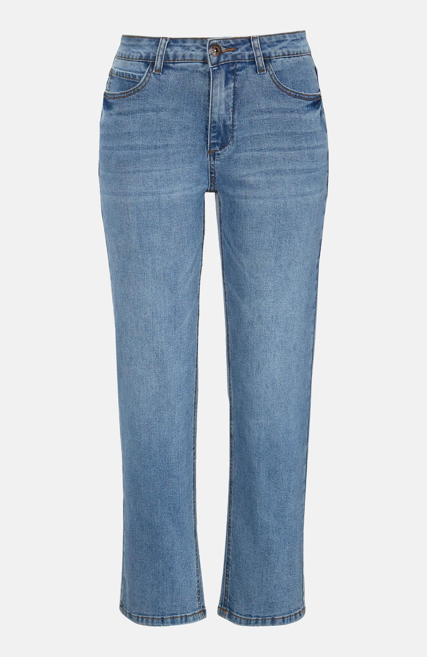 Jeans med ankellängd
