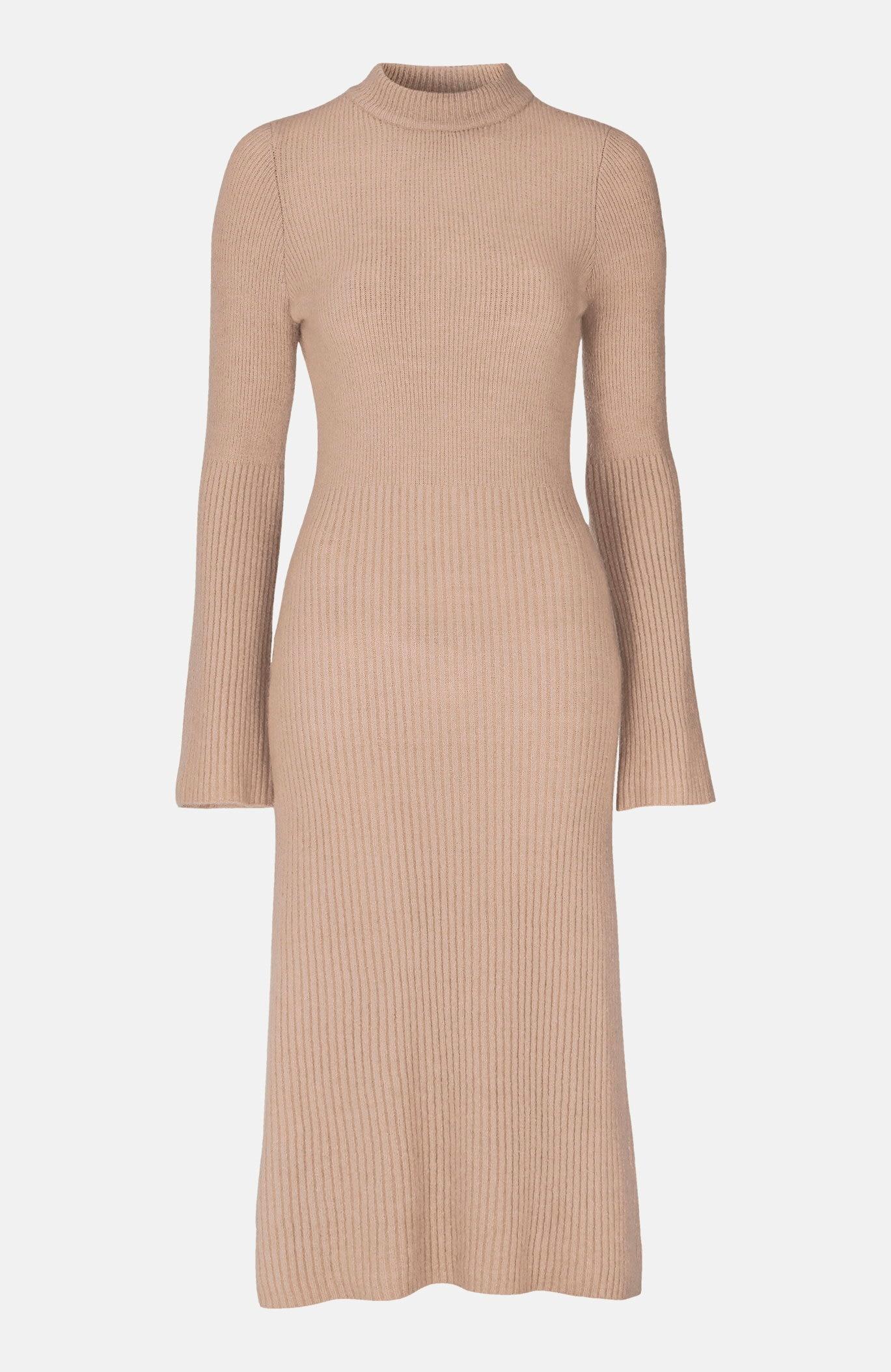 Stickad klänning Winnie