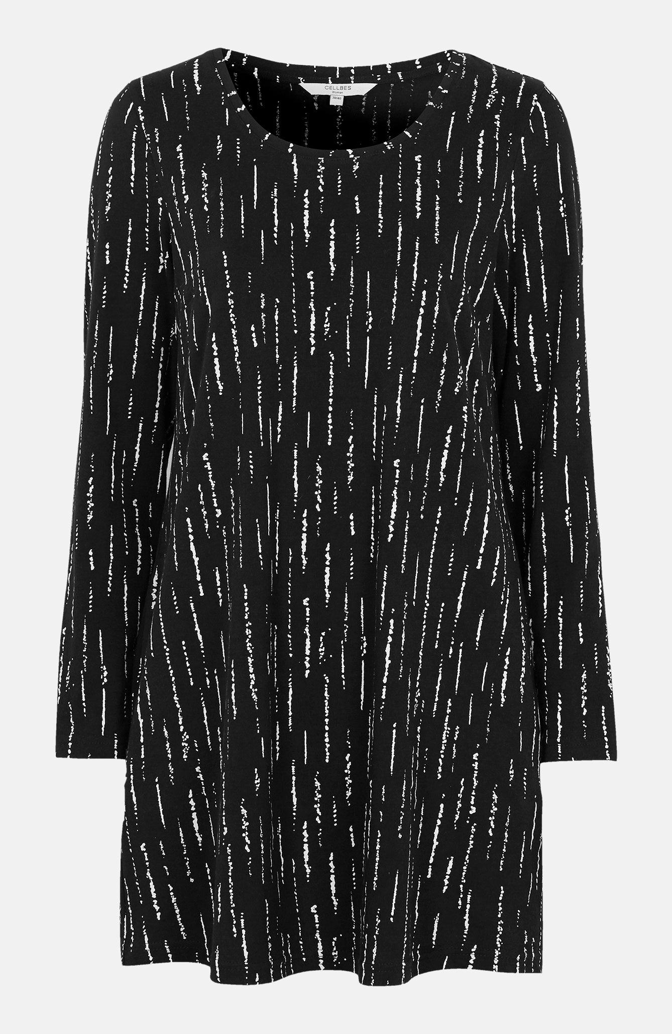 A-linjeformad tunika med fickor