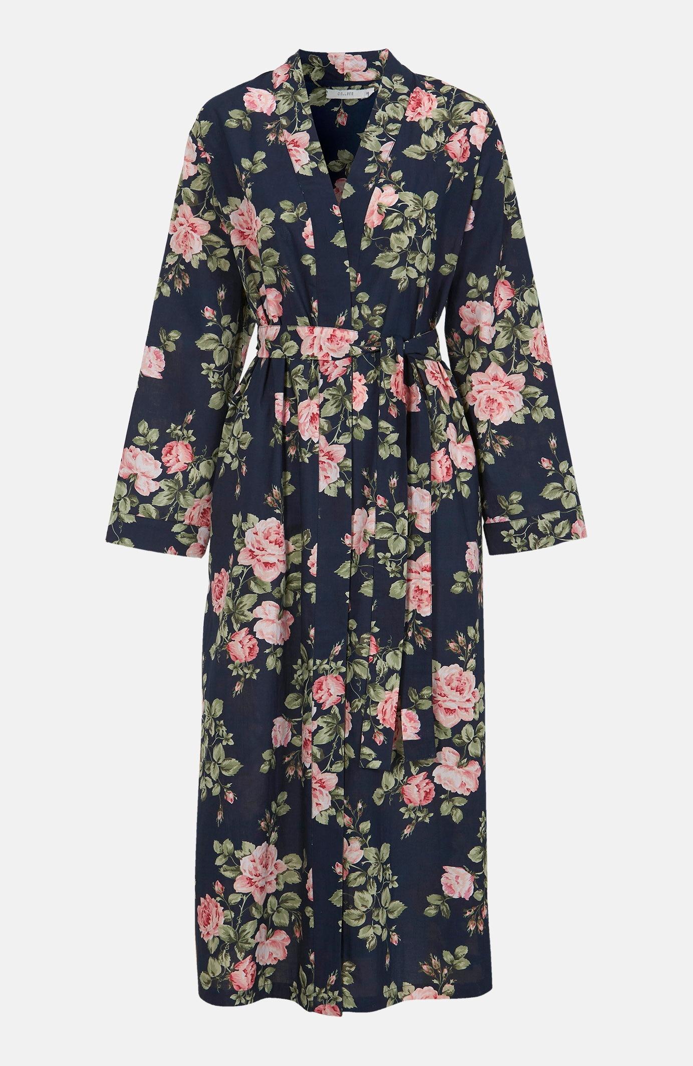 Mönstrad kimono