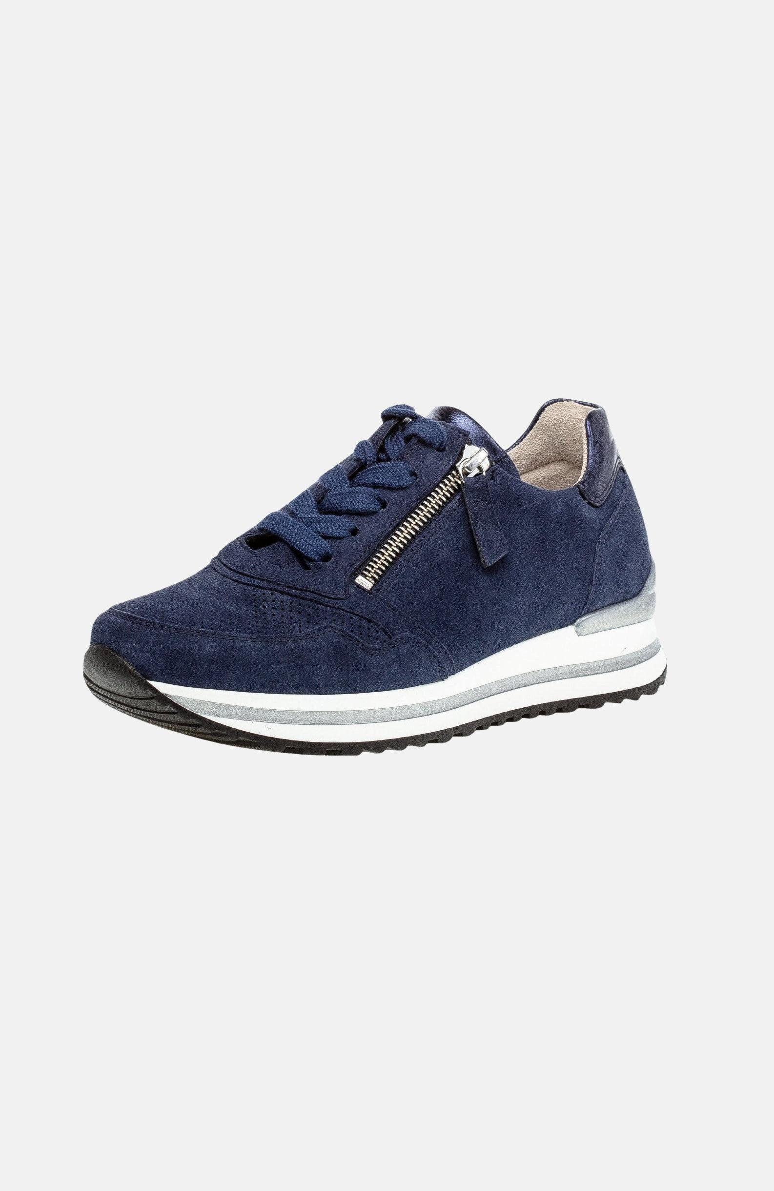 Sneakers i skinn