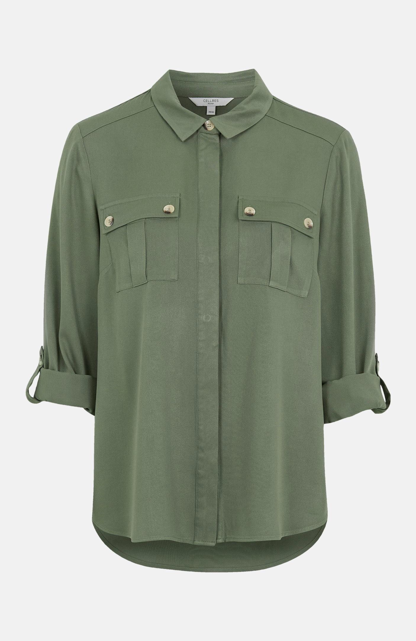 Cargoskjorta i twill