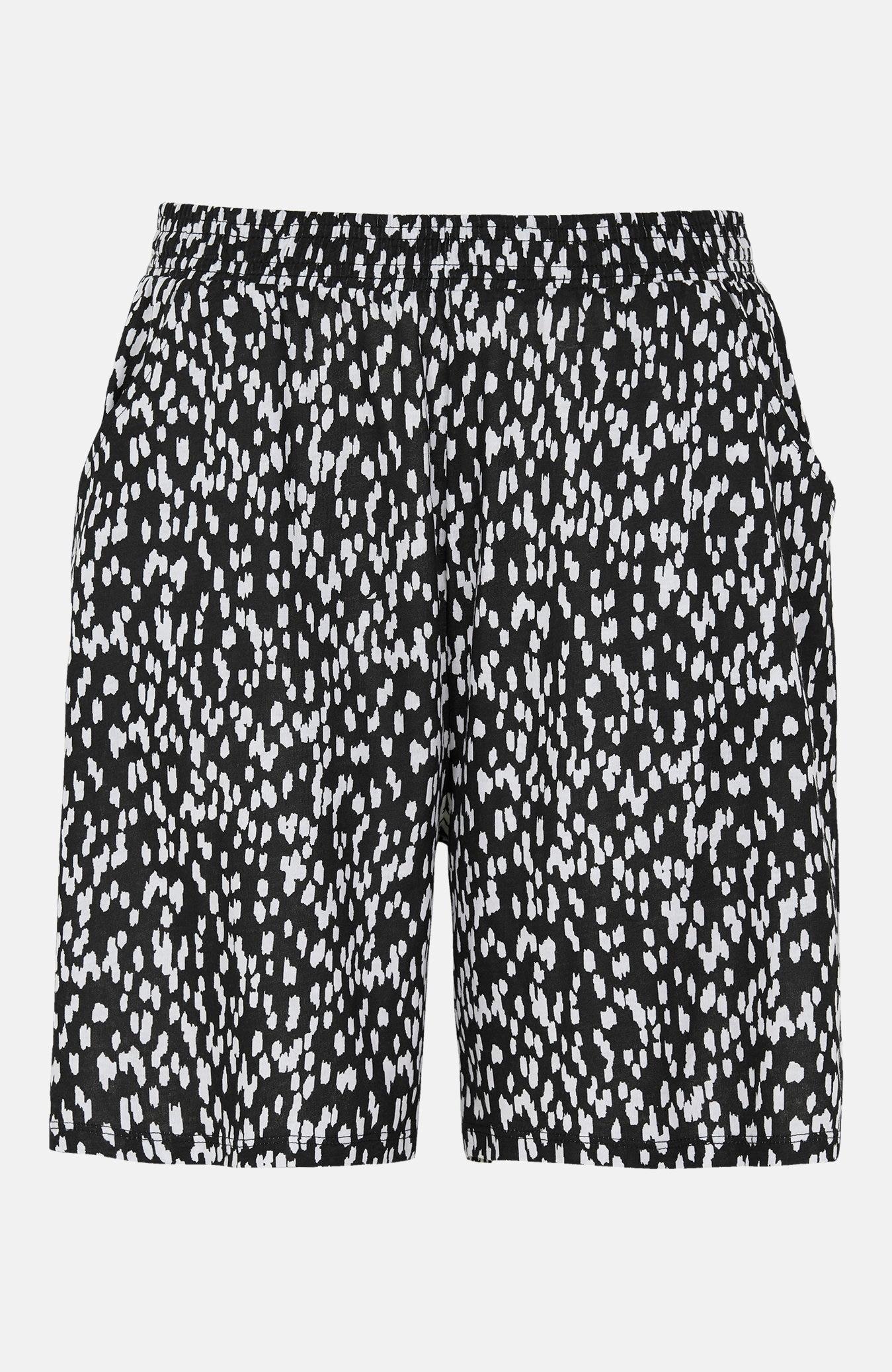 Mönstrade shorts med fickor 2-pack