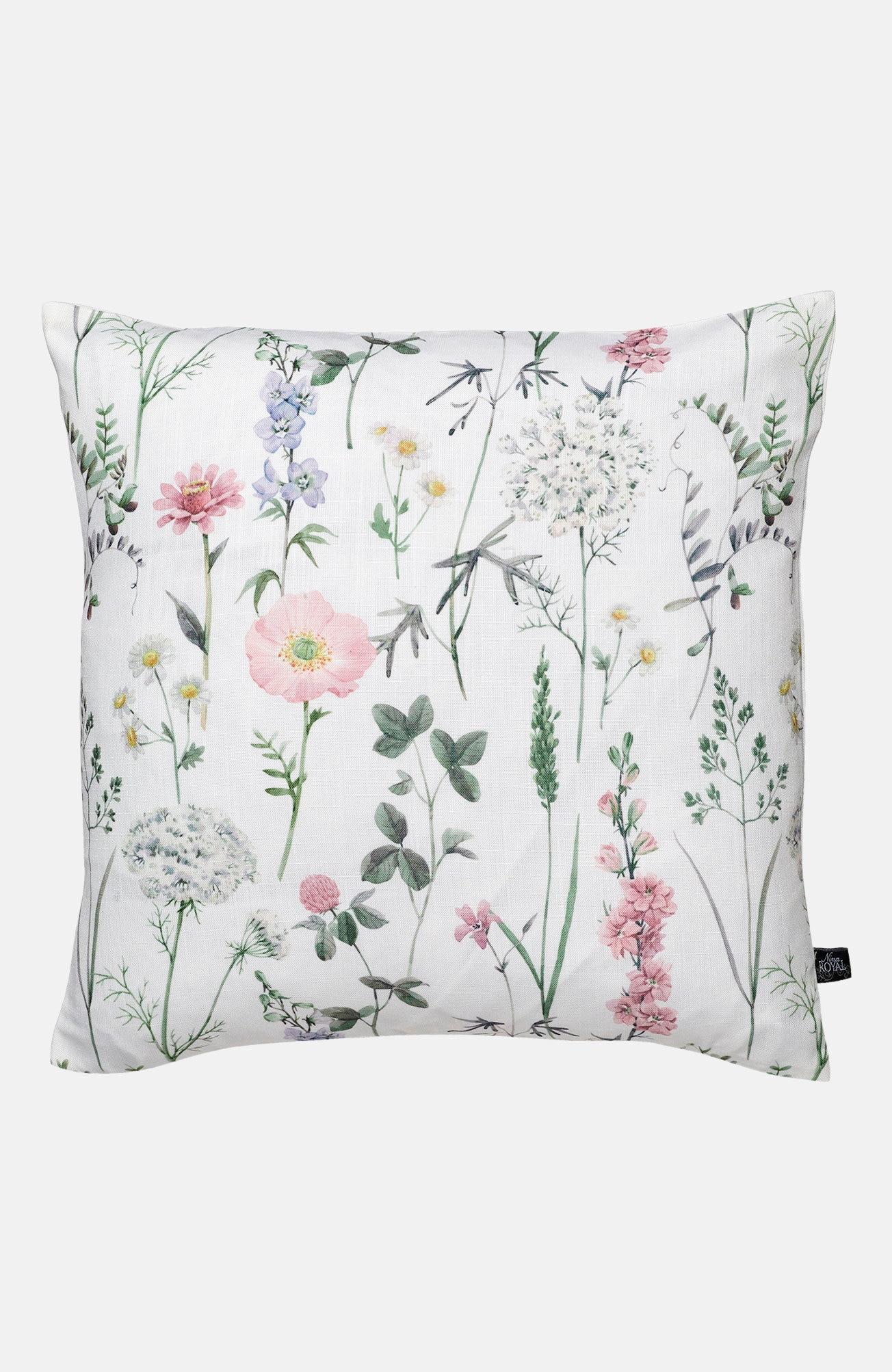 Kuddfodral Floral blommigt