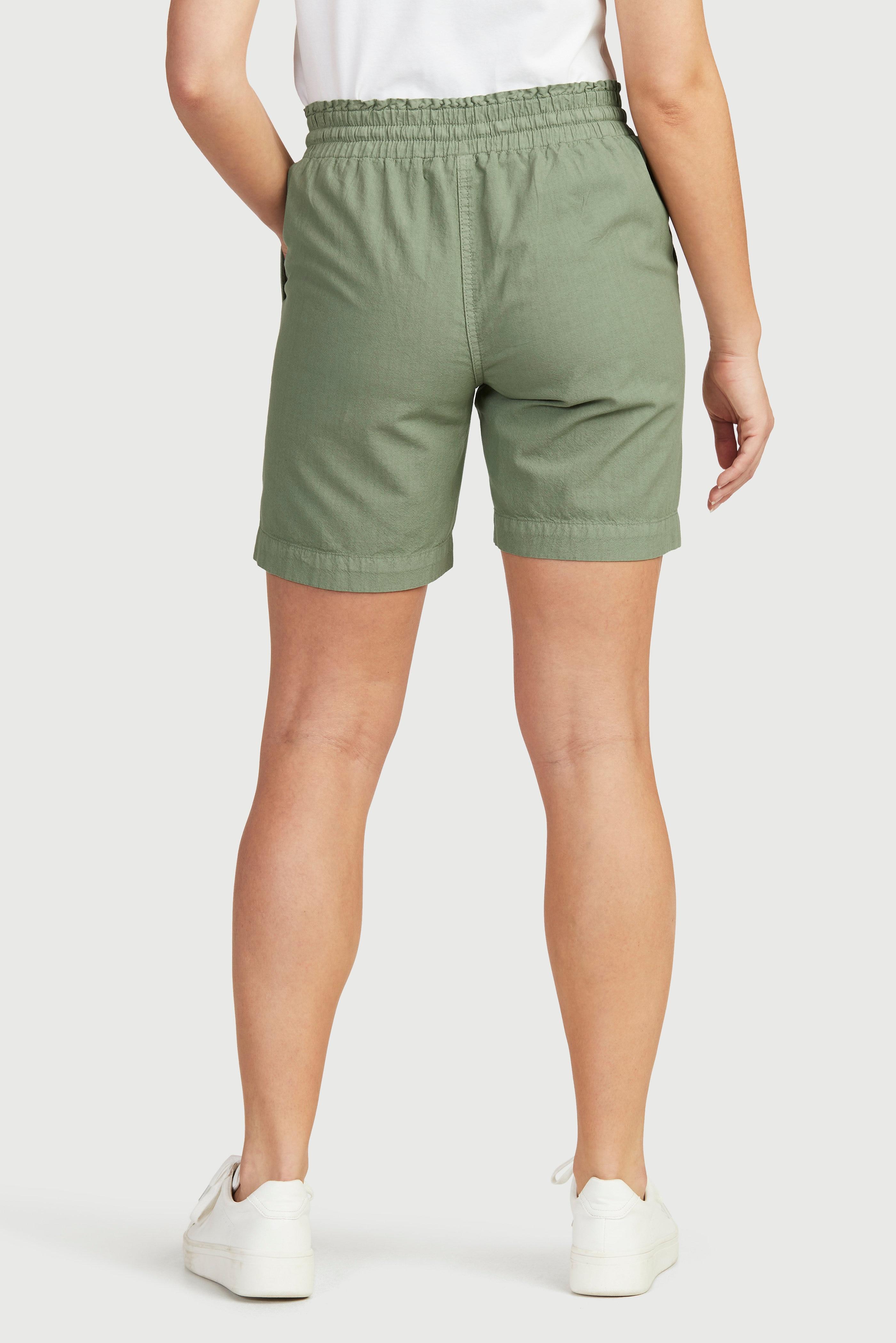 Shorts med resårmidja