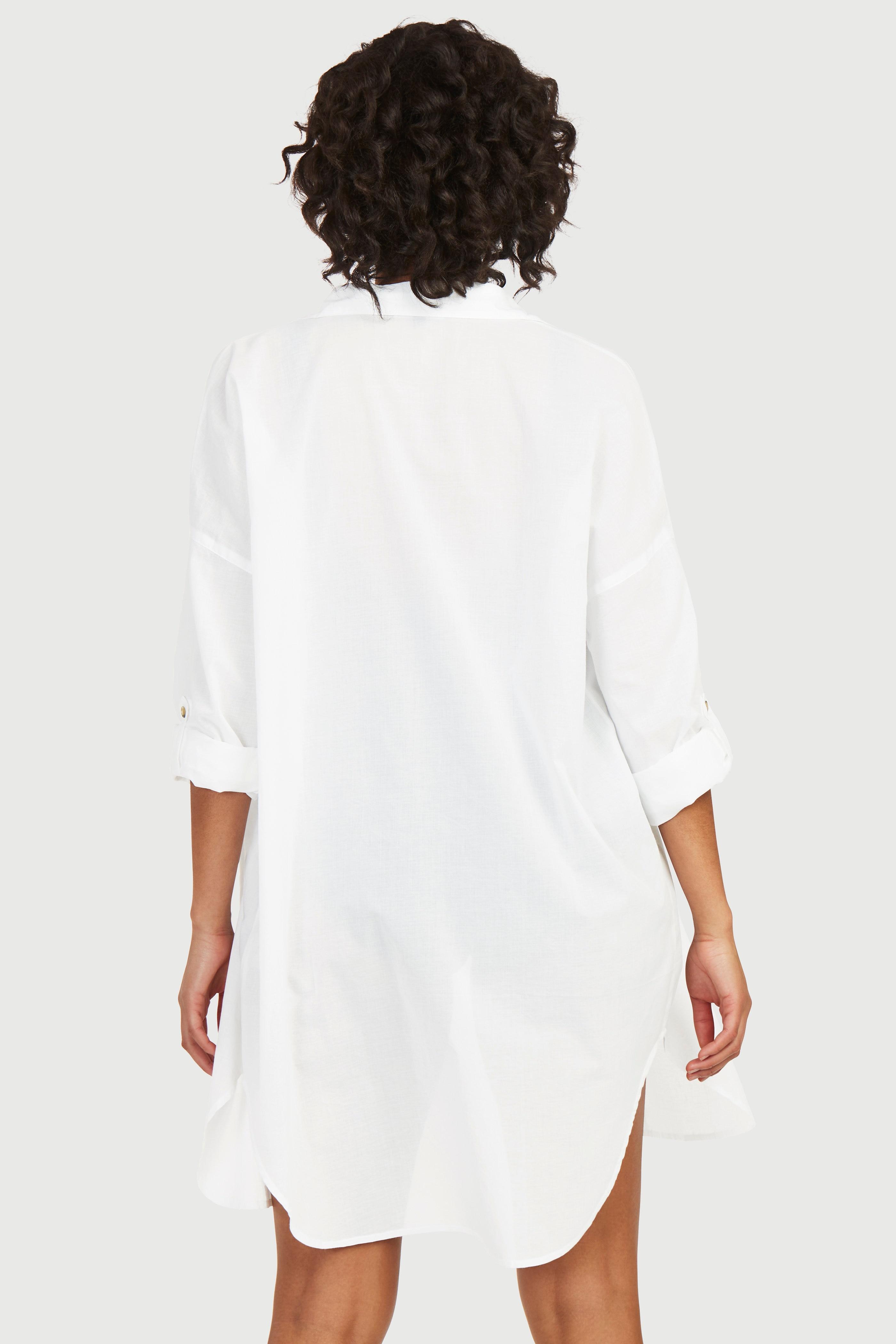 Tunn strandskjorta