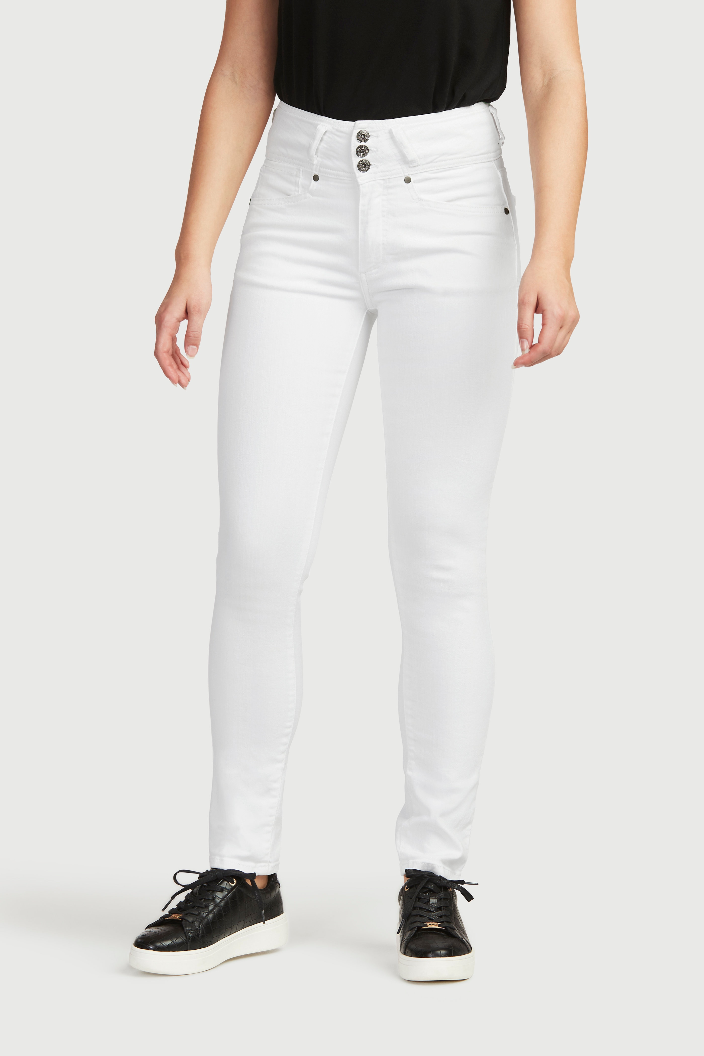 Raka jeans med hög midja Jenny