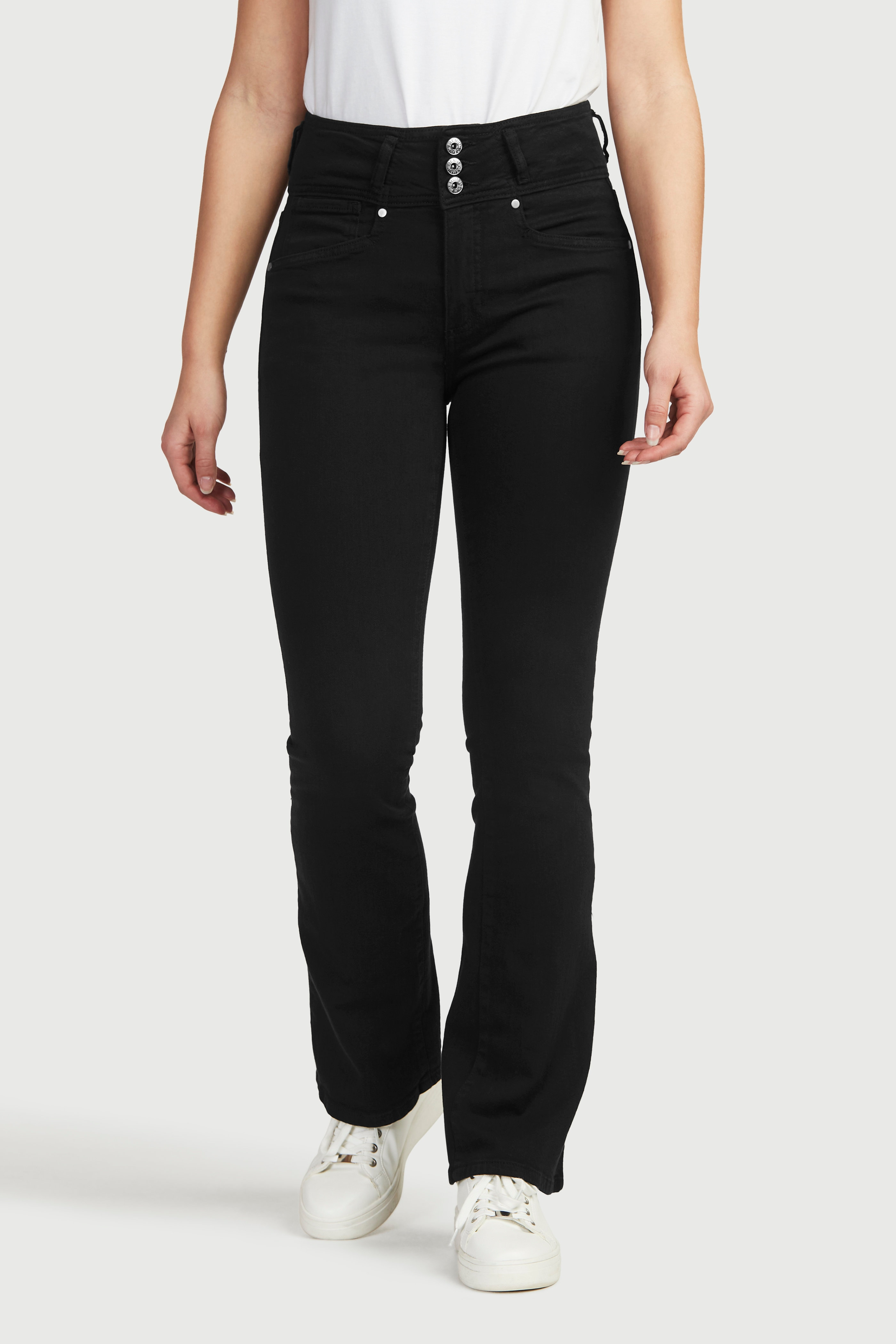 Bootcut jeans med hög midja Jennifer