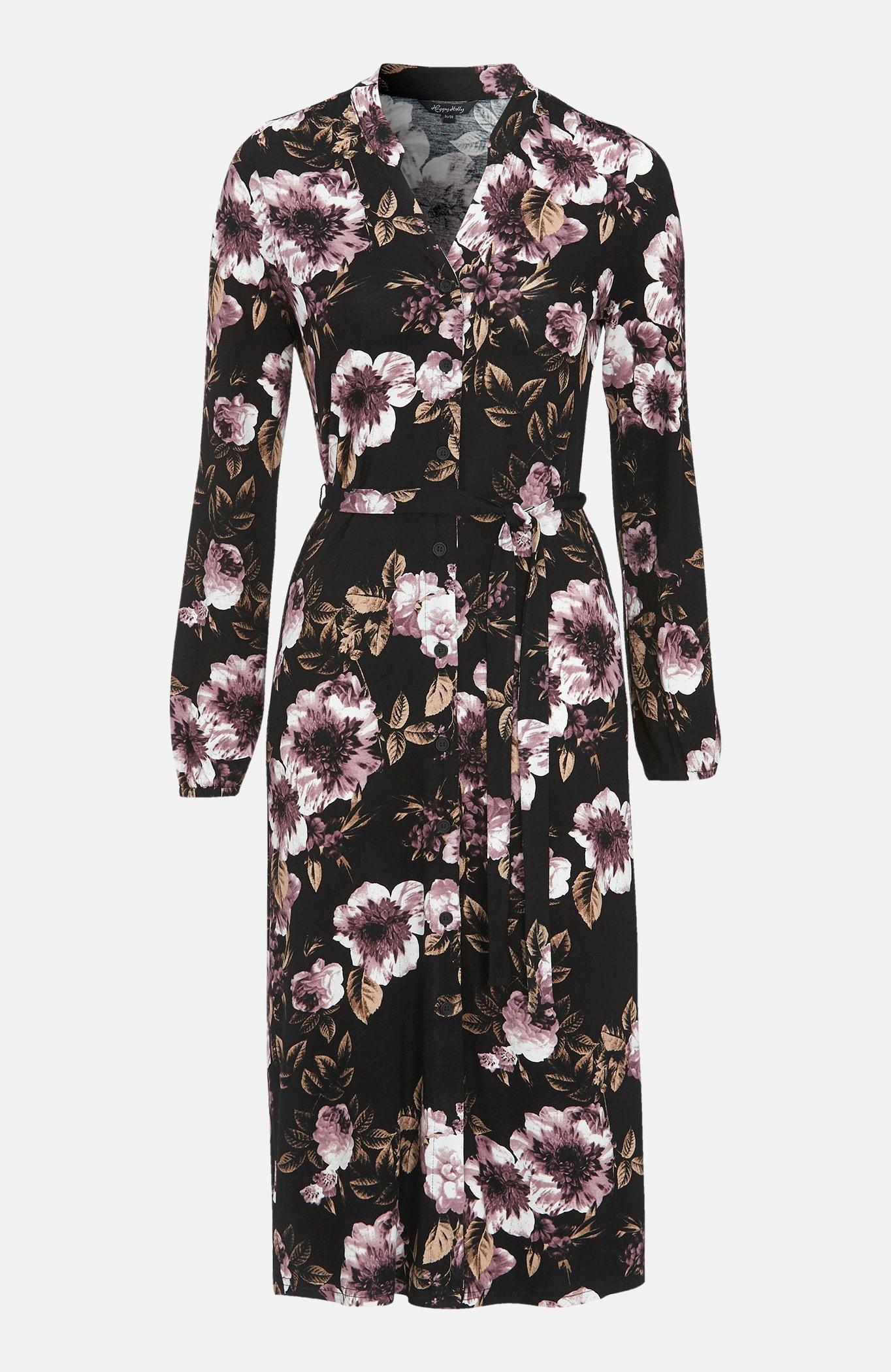 Mönstrad klänning Milly