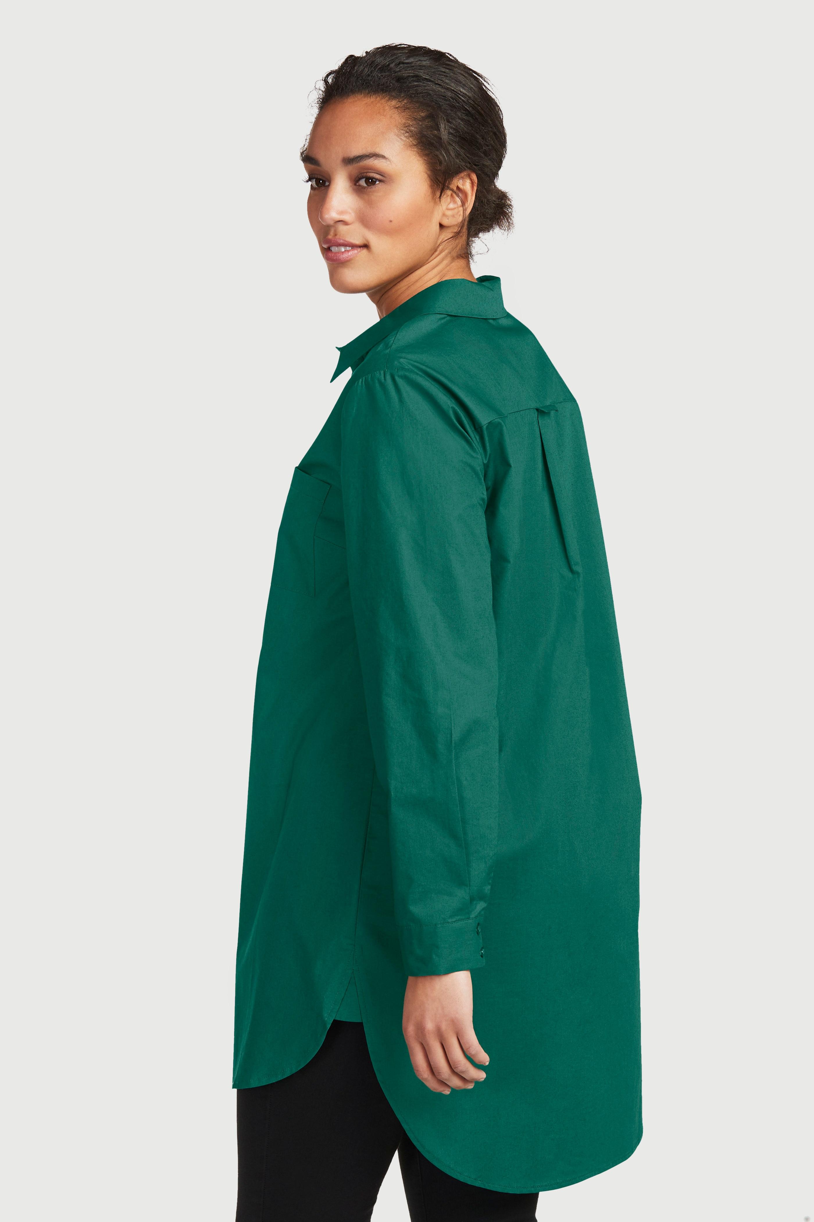 Långskjorta i ekologisk bomull