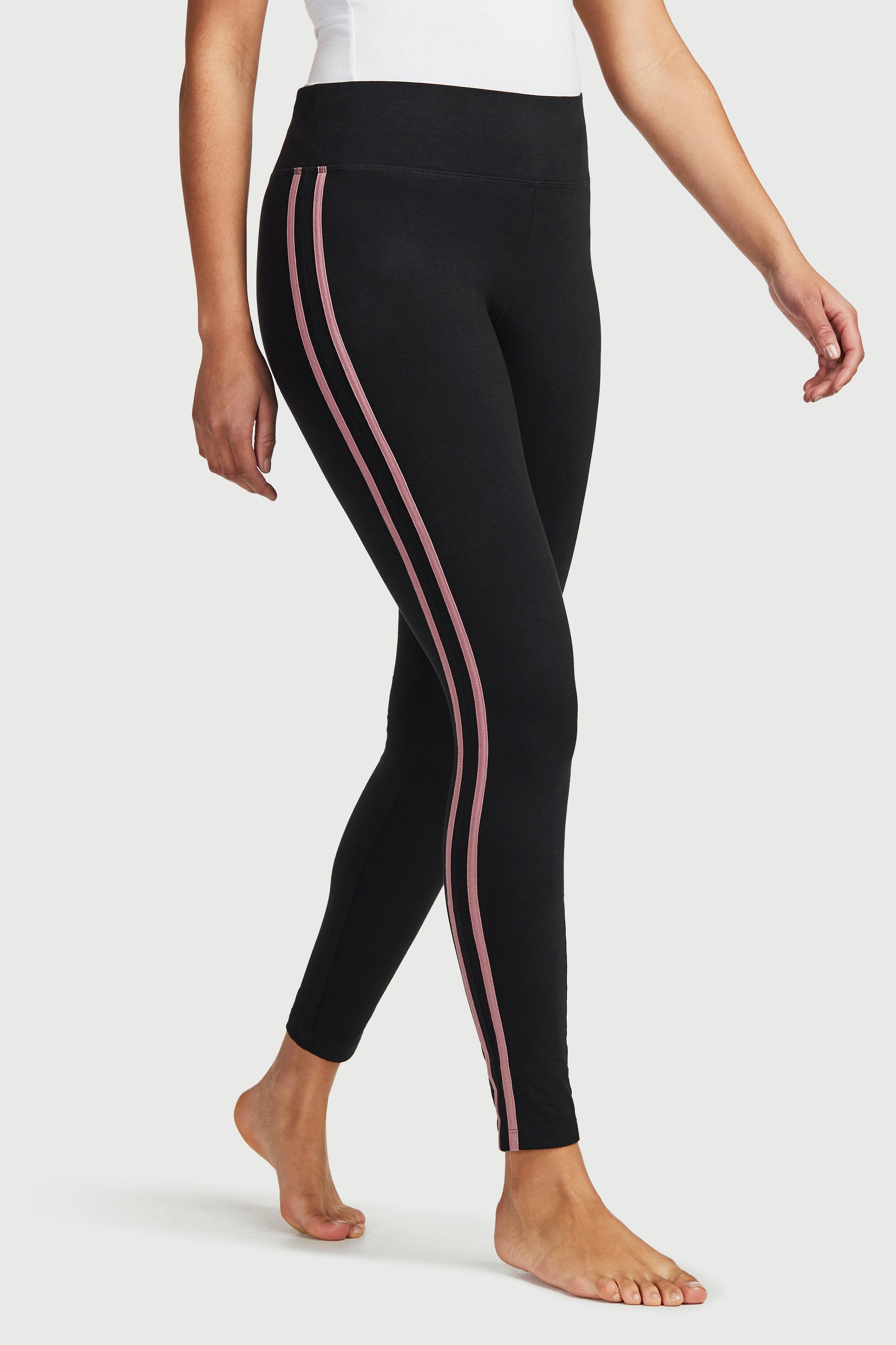 Träningstights med stripes