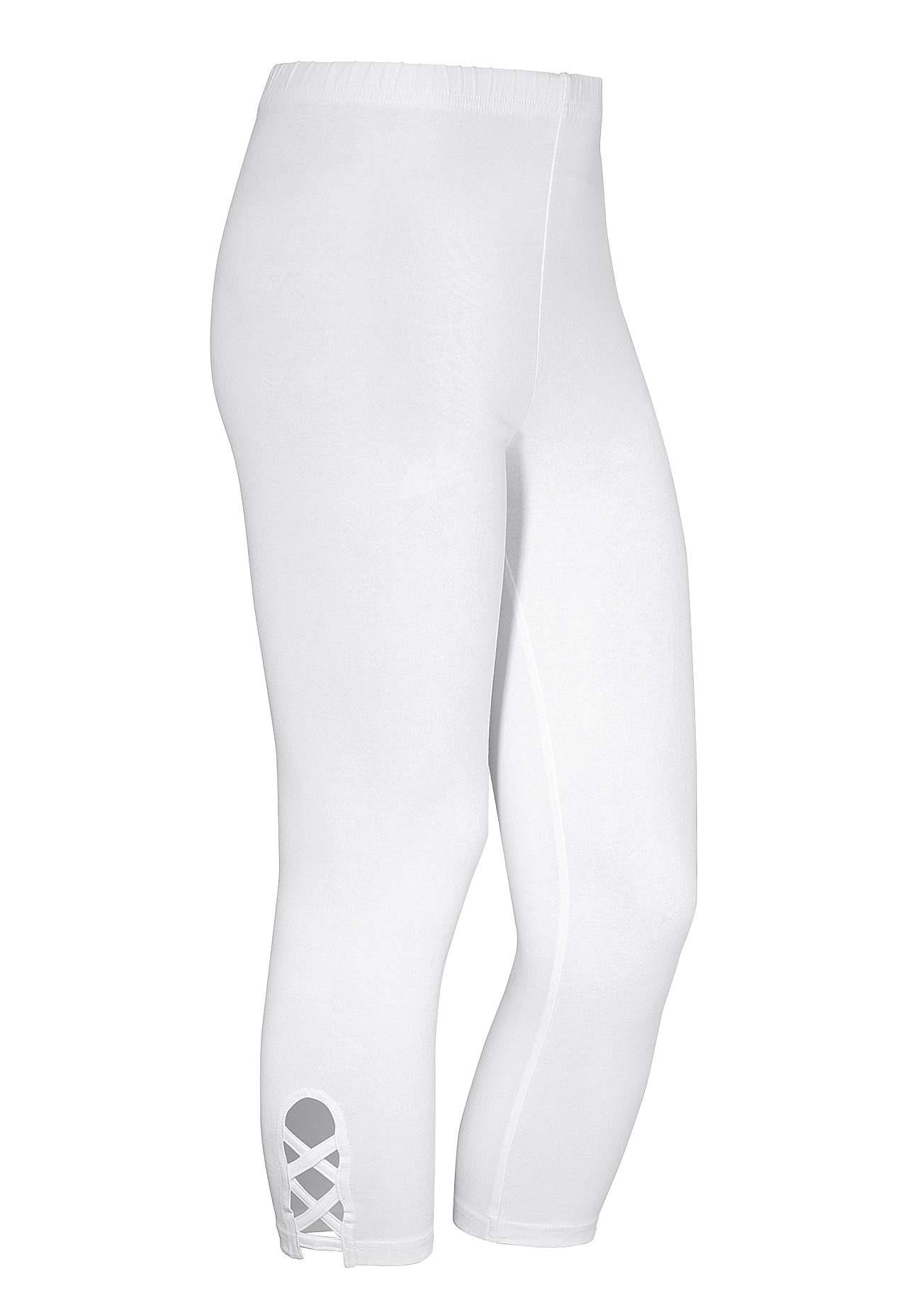Leggings i caprilängd 2-pack