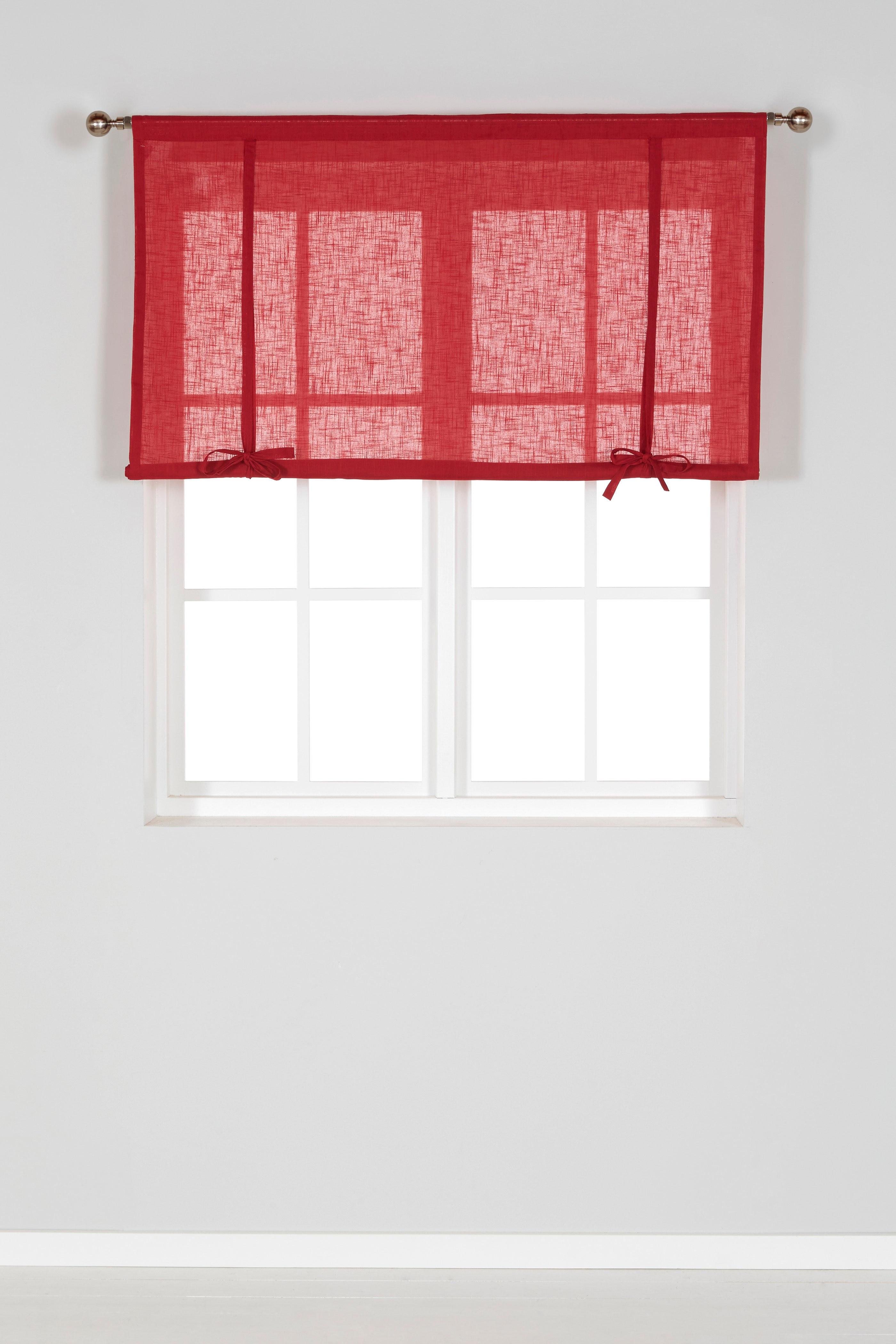 Hissgardin röd